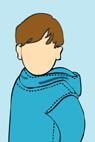 Куртка-анорак для ребенка.