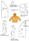 Выкройка.Одежда для походов и прогулок По этой выкройке можно сшить женский анорак из флиса (полара). .