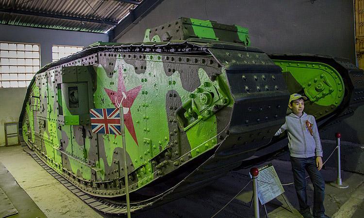 Боевой раскрас музей танков в кубинке