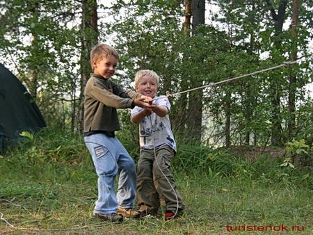 Конкурсы в походе для детей и взрослых