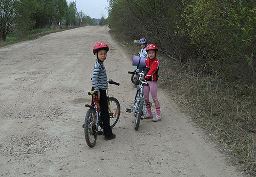 Юные велотуристы