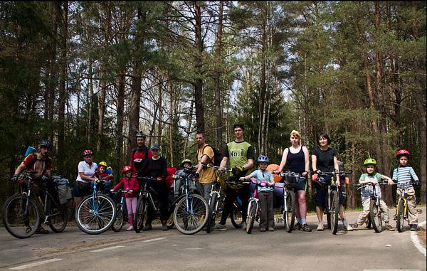 Велопокатушка с детьми на майские праздники