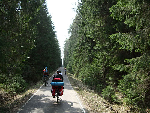 Хорошая дорога для велопокатушек