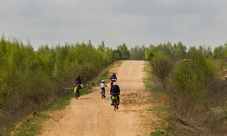 Велопоход в Николо-Ленивец