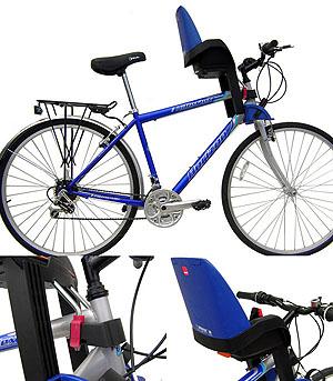 Велокресло для детей своими руками
