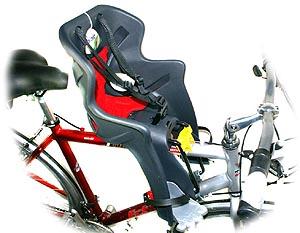 Детские кресла на велосипед на багажник б у